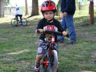 dziecko rower